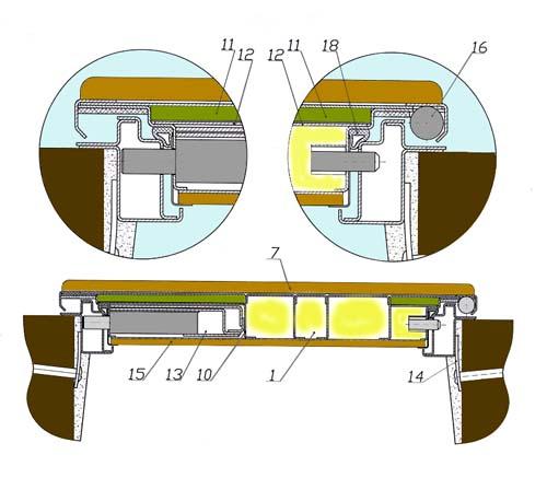 металлической двери Н-3